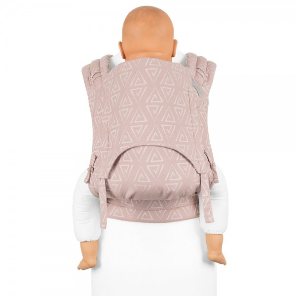 Fidella FlyClick Plus - Half-Buckle Babytrage - Paperclips - aschrosé - Toddler