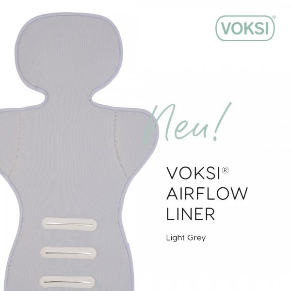 Voksi Airflow Liner Anti-Schwitz-Auflage für Babyschalen und Kindersitze