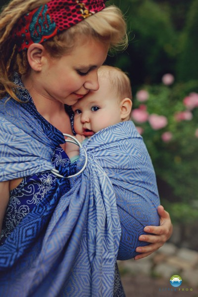 Little Frog Ring Sling M 2,0 m MARINE CUBE