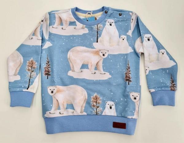 Walkiddy Sweatshirt - Polar Bear Family