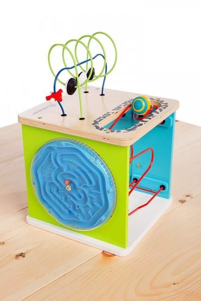 Hape Baby Einstein Motorikwürfel Erste Experimente - Alter: 12+ Monate E11656
