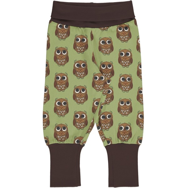 Maxomorra Pants Rib Owl