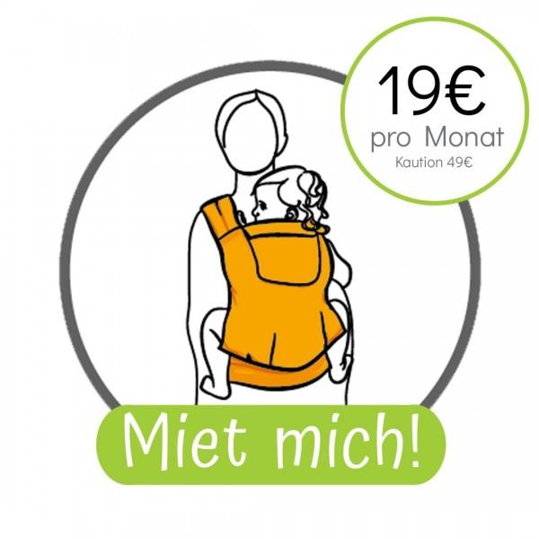 Miet mich! Storchenwiege BabyCarrier - Version mit Hüftgurtschnalle - 19,- € pro Monat